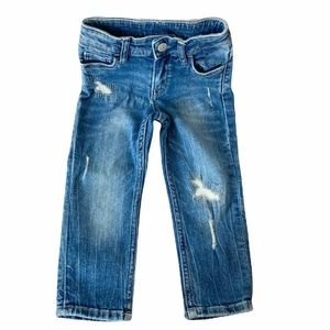 &Denim by H&M Blue Distressed Jeans for Toddler